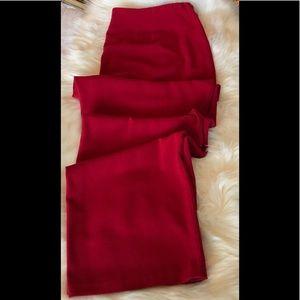 J Jill True Red Wide Leg Trousers Size 20W NWT